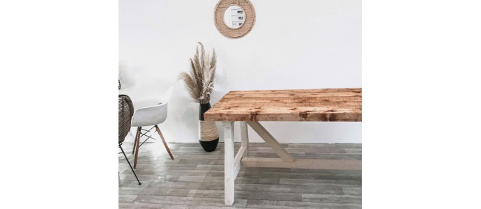 DIY - Réaliser une table à manger en bois